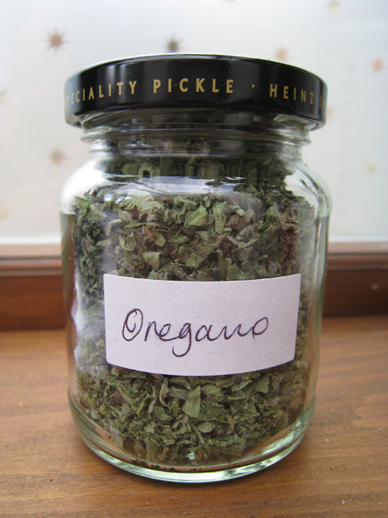 Jarred oregano