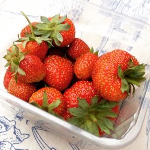 strawberry punnet