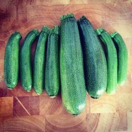 courgettes