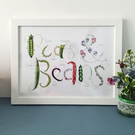 Peas and beans 1