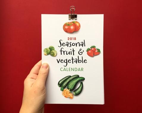 2018 calendar A5 front2