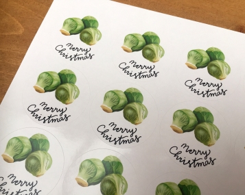 Merry Christmas Sprouts 2