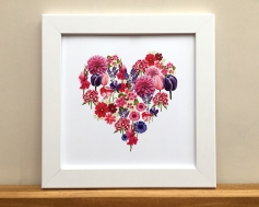 Flower heart