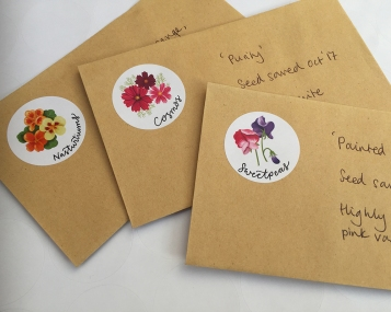 flower stickers 2